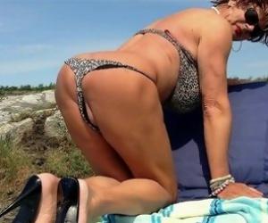 Granny Bikini Videos